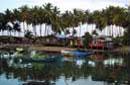 Fischerdorf an der Ostküste Malaysias